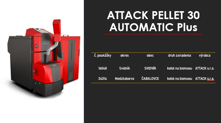 ATTACK PELLET 30 AUTOMATIC PLUS